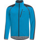 GORE WEAR C3 Phantom Windstopper Zip-Off Jacket Men dynamic cyan/black
